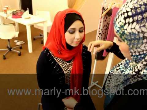 OHB Crystal Shawl_with Elia Jejari Runcing_Marliy Kama Makeup