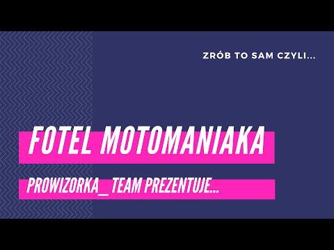 ZRÓB TO SAM | Fotel motomaniaka #prowizorka_team