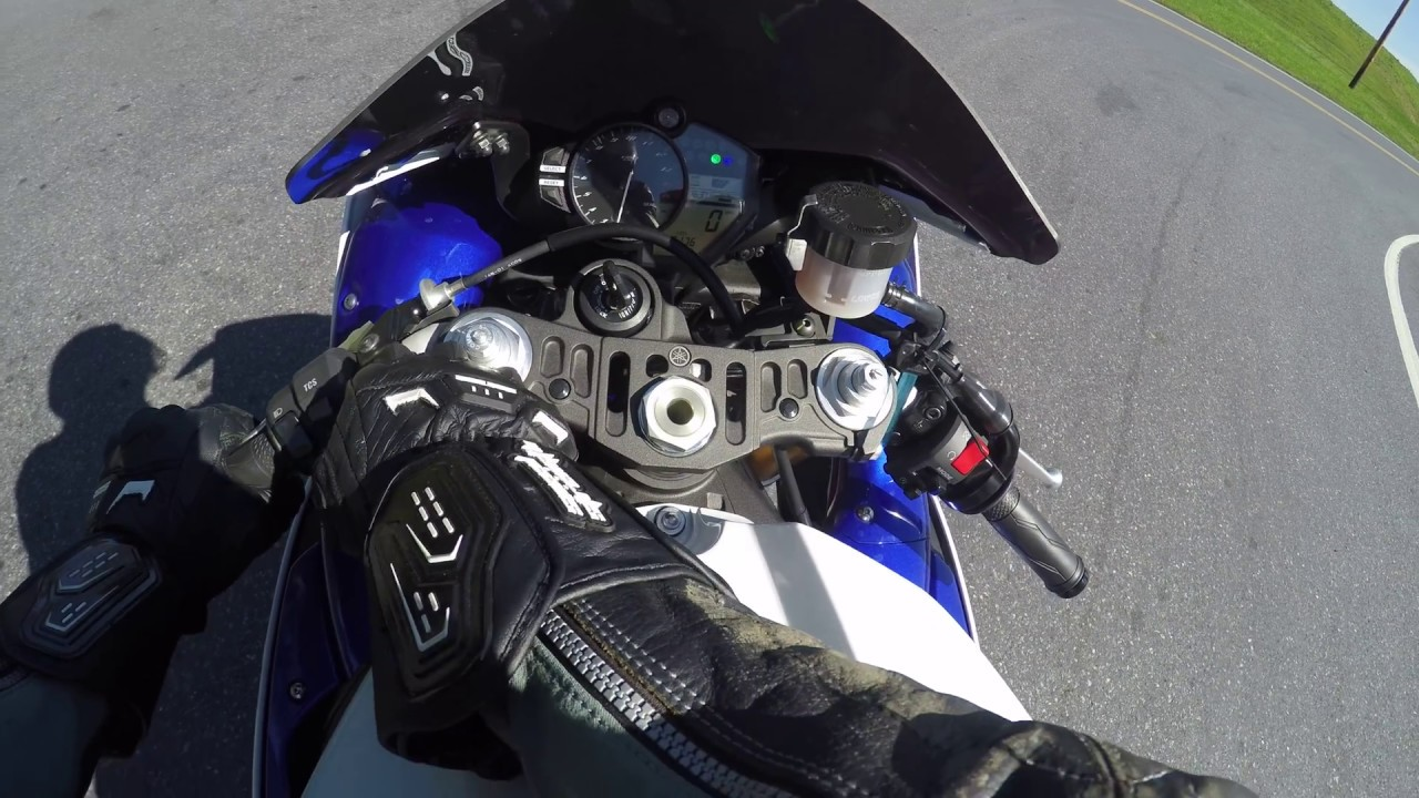 2014 Yamaha R1 Test Drive Review