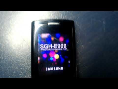 Samsung SGH-E900 recharge battery
