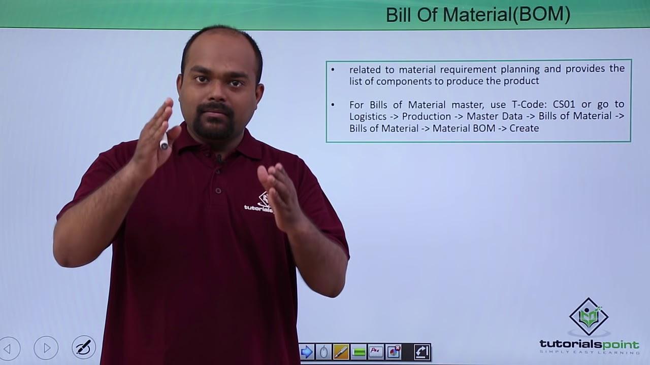 SAP PP - Master Data