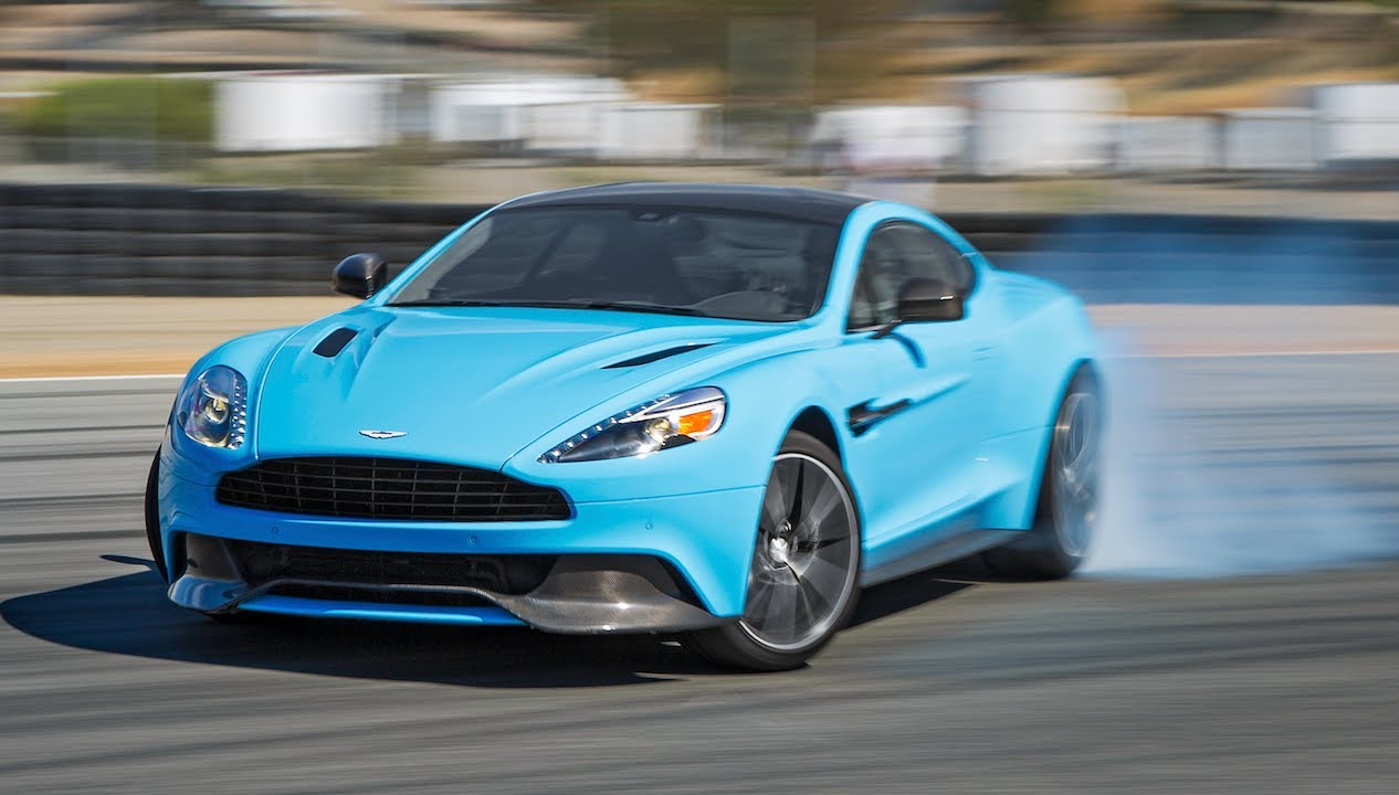 2014 Aston Martin Vanquish Hot Lap!   2013 Best Driveru0027s Car Contender    YouTube