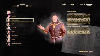 The Witcher 3: Wild Hunt - Character Glossary (Text): Emphyr Var Emreis (Nilfgardian Emperer)