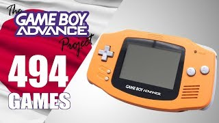 The Game Boy Advance Project - All 494 Japanese Exclusive GBA Games - Every Game