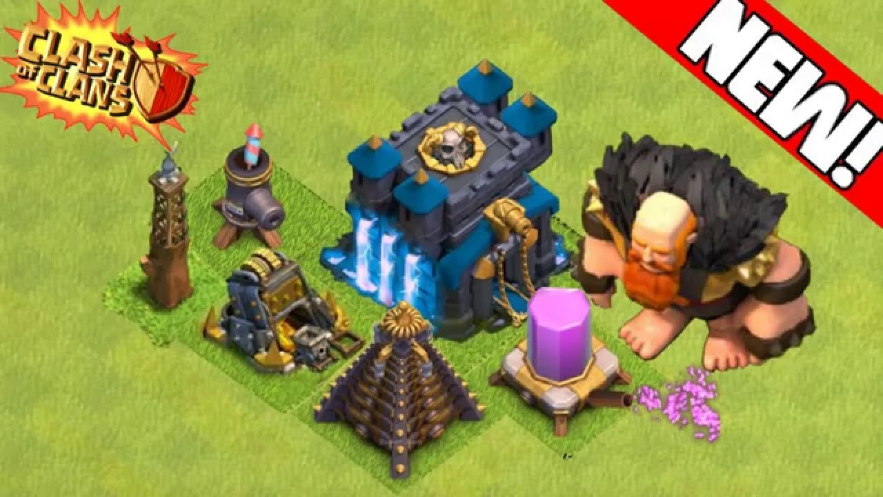 clash of clans new 2019 update town hall 13 youtube. Black Bedroom Furniture Sets. Home Design Ideas