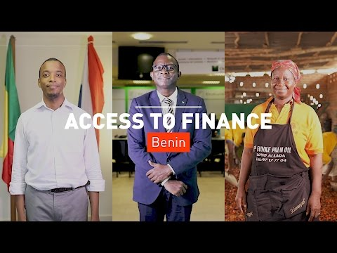 Making Agribusiness Work for Development: Access to Finance - Benin