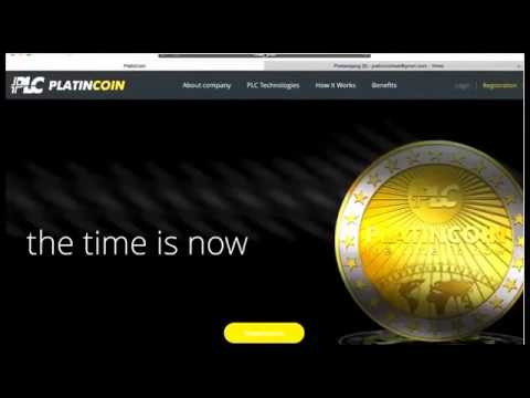 PLATINCOIN ENG Registration  - Earn 1 Million Dollars With Platin Coin Crypto Currency