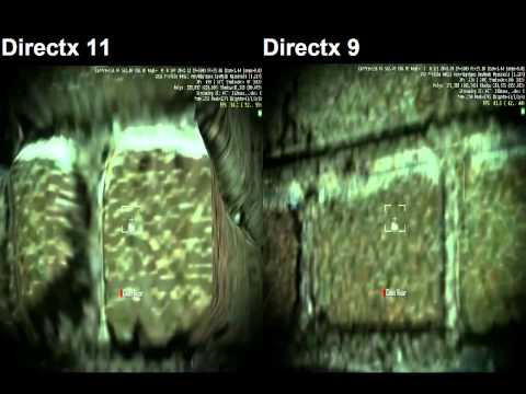 Crysis 2 Directx 11 And Directx 9 Comparison.