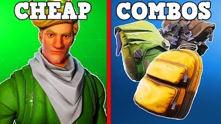 10 CHEAP SKIN + BACKBLING COMBOS! (Fortnite Battle Royale!)