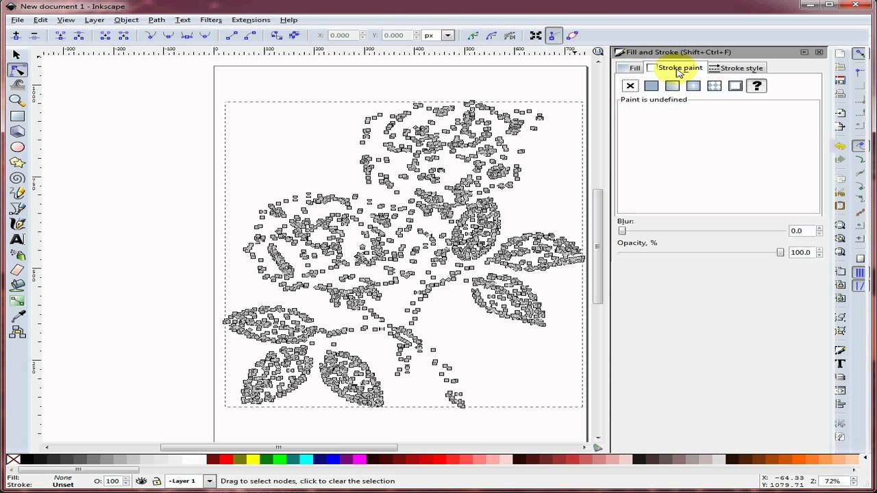 Drawing Lines With Inkscape : Trace bitmap with inkscape doovi