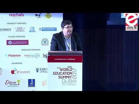 WES 2017, Dubai - Dr Ravi Gupta, CEO, Elets Technomedia Pvt Ltd. and Editor -in-Chief