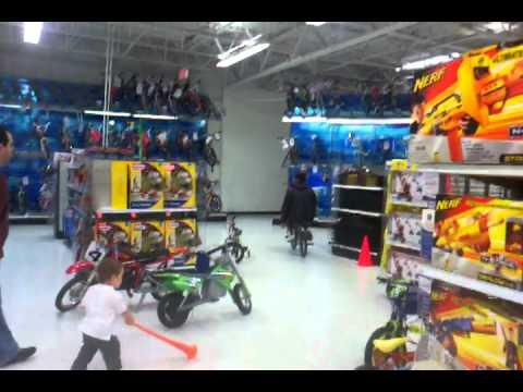 Bike Ride Through Toys R Us Youtube