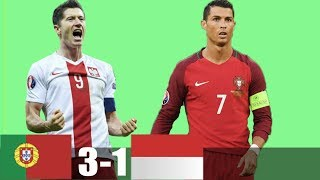 RÉSUMÉ & GOLES Portugal vs Poland 3 -1   Extended Highlights