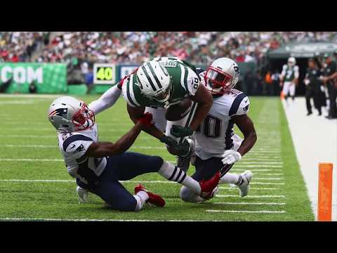 Patriots vs Jets Sefarian-Jenkins Touchback (Rules Explanation)