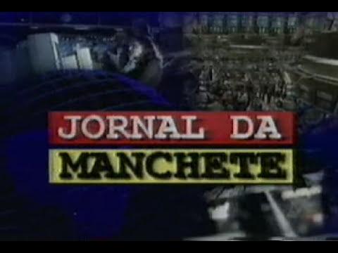 Jornal da Manchete - Abertura e Encerramento com Cláudia Barthel - 1999