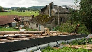 Cas de tornade à Manhay en province de Luxembourg [Reportage]