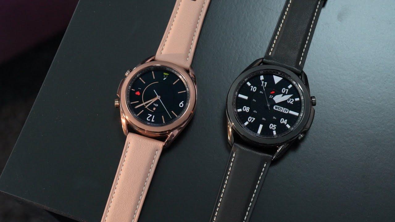 وش الجديد مع ساعة الذكيّة Samsung Galaxy Watch3 ؟