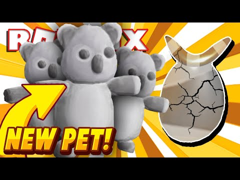 New Koala Pet In Adopt Me Australian Egg In New Adopt Me Valentine S Update Roblox Youtube