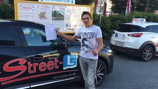 Bravo , permis réussi avec Street-L auto-école 079 666 33 50