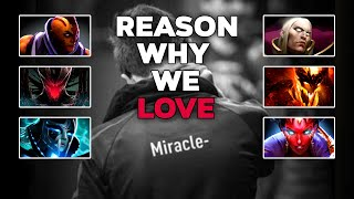 Reason Why We Love TOP 1 Player in the WORLD - Miracle-