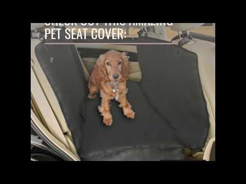 A2S Luxury Hammock Pet Seat Cover & Cargo Cover 3 Layers Waterproof