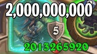 2 Billion HP Hero!? Witchwood BUG!