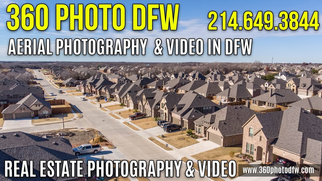 Affordable Aerial photography and Real Estate Photography in Van Alstyne,  TX   360 Photo DFW