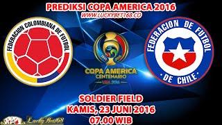 Prediksi Copa America 2016 Colombia vs Chile 23 Juni 2016