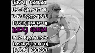 Lady Gaga Bad Romance Official Instrumental (with Backing Vocals)