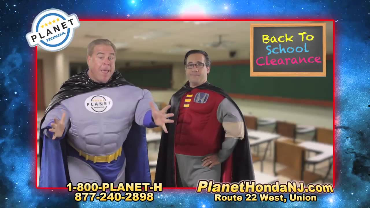 Planet Honda Back To School CR V Special!