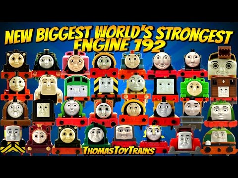NEW BIGGEST Thomas and Friends 192 World's Strongest Engine Trackmaster Plarail ThomasToyTrains