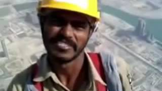 Indian Workers In Burj Khalifa Construction Brave Hearts