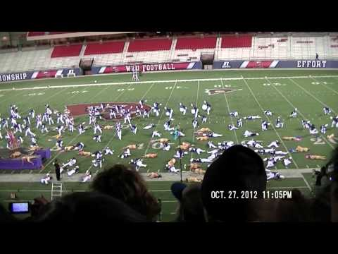 Lafayette High School Marching Band 2012 State Champions