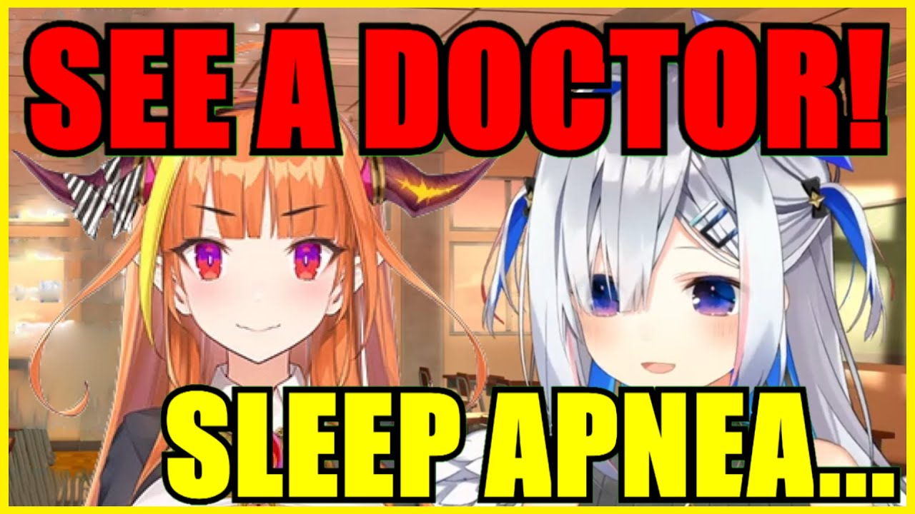 【Hololive】Kanata Found Out She Has Sleep Apnea Because Of Coco's Advice【Eng Sub】