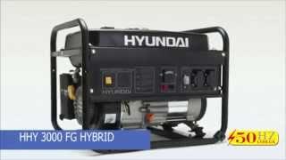 Генератор Hyundai HHY3000FG Бензин Газ смотреть
