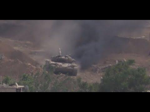 Syrian Army Advance into Industrial Zone of Al-Qadam