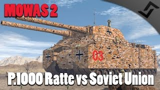 Men of War: Assault Squad 2 - P.1000 Ratte vs Soviet Union Onslaught