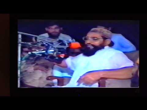 Allama Ahmad saeed khan Multani (Arabic Ashaar and khutba) HD2000