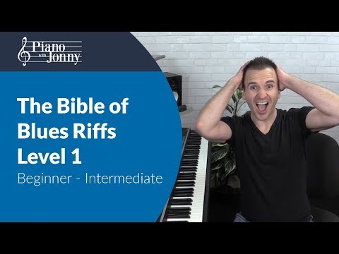 The Bible of Blues Riffs - Beginner to Intermediate Lesson