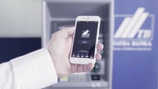 Návod - výber z bankomatu mobilom