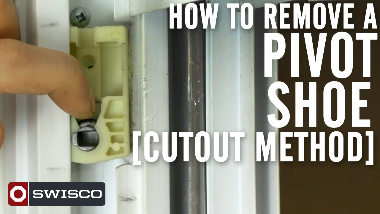 How To Remove A Pivot Shoe Cutout Method 1080p Youtube
