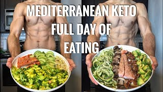 MEDITERRANEAN KETO FULL DAY OF EATING!