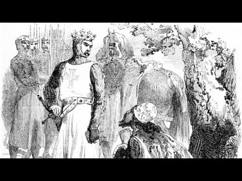 Isaac of Cyprus surrenders to Richard the Lionheart