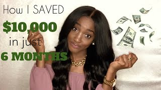 HOW I SAVED OVER $10,000!!!
