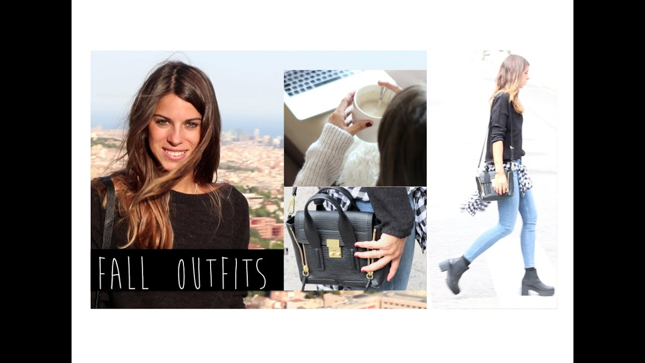 Fall Outfits | Looks para estar en casa + outfit básico - YouTube