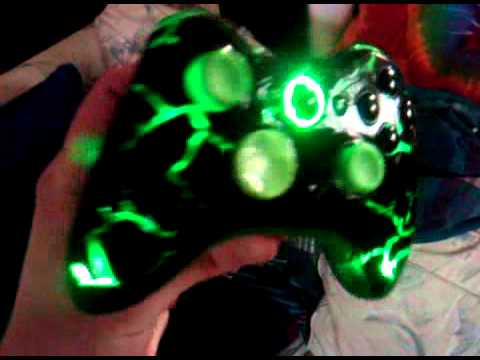 Custom Painted And Lighted Xbox 360 Controller Sold Youtube