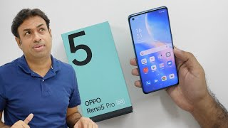 OPPO Reno5 Pro 5G Smartphone Unboxing \u0026 Overview | AI Videography