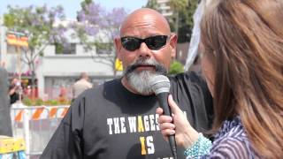 """A MATTER OF OPINION"" Webisode (72) Anti-Gay Street Preacher, Ruben VS President Barack Obama"