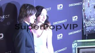 Jonah Bobo and Haley Ramm at Disconnect NYC Special Scree...