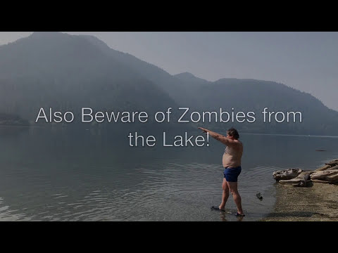 Baker Lake Shannon Creek Campground Tips And Review Plus Bonus Zombie Scene At The End